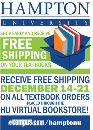 Free Shipping on all Textbook Orders - December 14-21