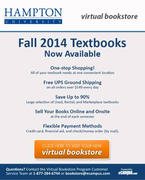 Fall 2014 Textbooks Now Available