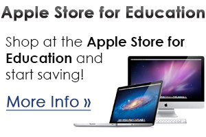 Apple Store for Education - Click for more information.