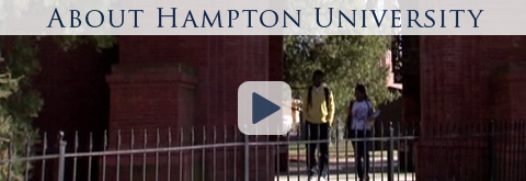 hampton university standard of excellence application