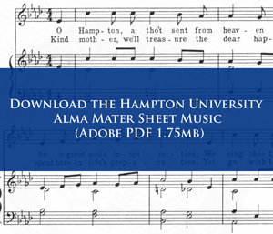 Download the HU Alma Mater Sheet Music