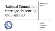 National Summit on Marriage, Parenting and Families