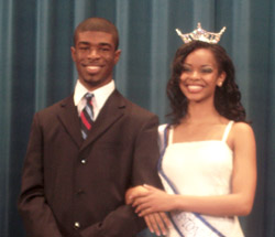 Miss Hampton University and Mr. Pirate