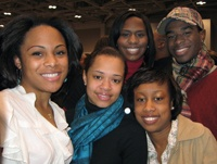 HU Students attended a Barack Obama rally in Virginia Beach.