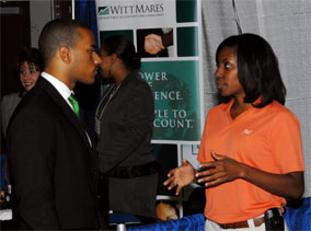 Career Fairs are just the tip of the iceberg 